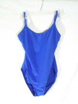 Catalina Womens One Piece Swimsuit Blue Size Large I - $15.98