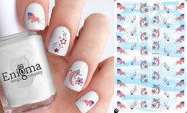 I Love America Nail Decals (Set of 52) - $4.95