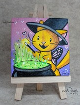 161009   mini painting   little witch  1  thumb200