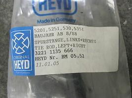 Front BMW 524td 525i 525iT 528e 530i 533i 535i 540i M5 M6 Steering Tie Rod Ass. image 2