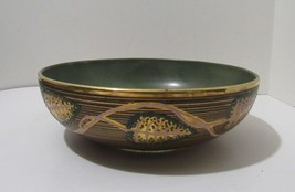 Heisey Glass Rare Depression Glass Hand Painted Bowl - $35.00