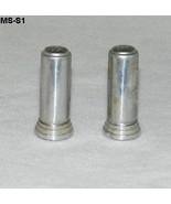 Vintage 1950 Tube Shaped Salt Pepper Shakers - $13.99