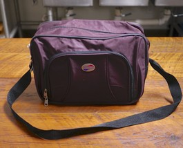 AMERICAN TOURISTER Advanta Burgundy Nylon Shoulder Strap Carry-On Duffle... - $39.99