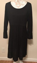 NWOT Calvin Klein Black Sweater Dress Career Casual Stretch XL - $24.95