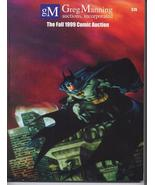 Greg Manning 1999 Comic Auction Catalog Reference Guide Silver Age Hero ... - $14.95