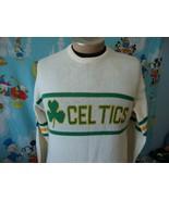 Vintage 80's Boston Celtics NBA Cliff Engle Sweater M  - $74.24