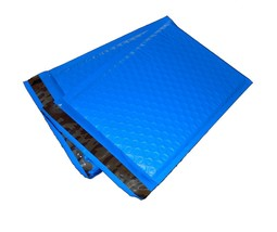 25 4x8 BLUE Poly Bubble Mailer Envelope Shipping Wrap Air Mailing Bags 4x8 - $7.99