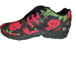 Adidas ZX Flux Torsion AQ4752 Sneakers Shoes - Black Red Roses  - Women ... - $58.45