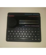 Franklin Speaking Handheld Electronic wordmaster 1990 Pronouncing Thesaurus - $23.75