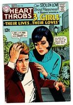 Heart Throb #116 comic book 1968-DC-3 Girls series-fashion panels - $41.61