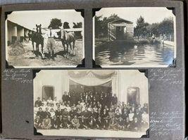 Antique Photo Book Album Boy Scouts 1914 Hotel Bellavista Chile Argentina image 12