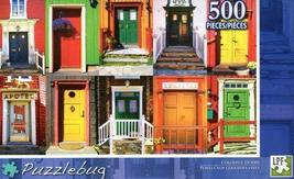 Colorful Doors - Puzzlebug - 500 Pc Jigsaw Puzzle - NEW - $9.82