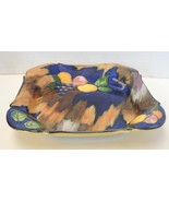 1930s H & K Tunstall Autumn Delicious Dozen Square Bowl - $24.93