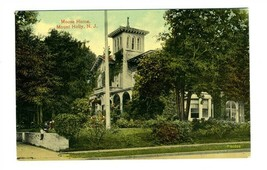 Moose Home Postcard Mount Holly New Jersey 1910's - $17.80
