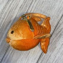 Orange Goldfish Plush Purse Gymboree Vintage - $22.03