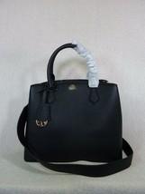 NWT Tory Burch Black Saffiano Leather Robinson Triple-compartment Tote $458 - $413.82
