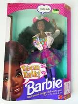 Barbie African American Teen Talk Doll Damaged Box 1991 - $53.01