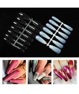 Acrylic Nails Tip Salon Square Clear False Ballerina French Full-Cover A... - $21.18+