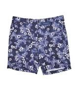 PETER MILLAR Floral Print Cotton Linen Flat Front Shorts Barchetta Men's... - $69.29