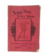 Antique Ca. 1905 Scroll Saws Fancy Wood Tools Catalog Pomeroy Scroll Har... - $32.62
