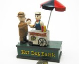 Hot Dog Collectors' Die Cast Iron Mechanical Coin Bank