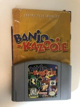 Banjo-Kazooie (Nintendo 64, 1998) with ORIGINAL Manual  - $27.71