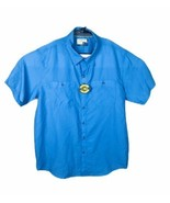 Magellan Outdoors Shirt Loose Fit Blue MagShield Mens Size XL - $23.92