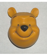 DISNEY WINNIE THE POOH HEAD FACE RESIN REFRIGERATOR FREEZER MAGNET - $12.21