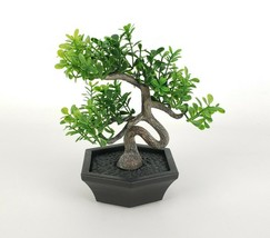 "Ikea FEJKA Mini Bonsai Tree 4.5"" Artificial Potted Plant with Pot Indoor... - $13.57"