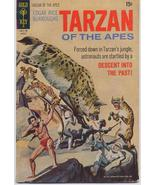 Gold Key 1971 Tarzan #202 Descent Into The Past Jungle TV Action Adventure  - $5.95
