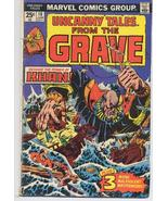 Marvel Uncanny Tales From The Grave #10 KHAN Horror Terror Monster Creature - $4.95