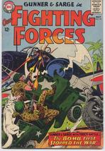 DC Our Fighting Forces #92 Gunner &  Sarge War Action Adventure Army - $7.95