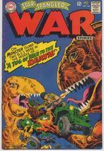 DC Star Spangled War Stories #136 Dinosaur Cover Military War Adventures - $14.95