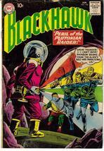 DC Blackhawk #156 Peril Of The Plutonian Raider Action Adventure Air Force - $9.95
