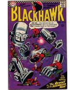 DC 1966 BlackHawk #220 Revolt Of The Assembled Man Action Adventure  Air... - $5.95