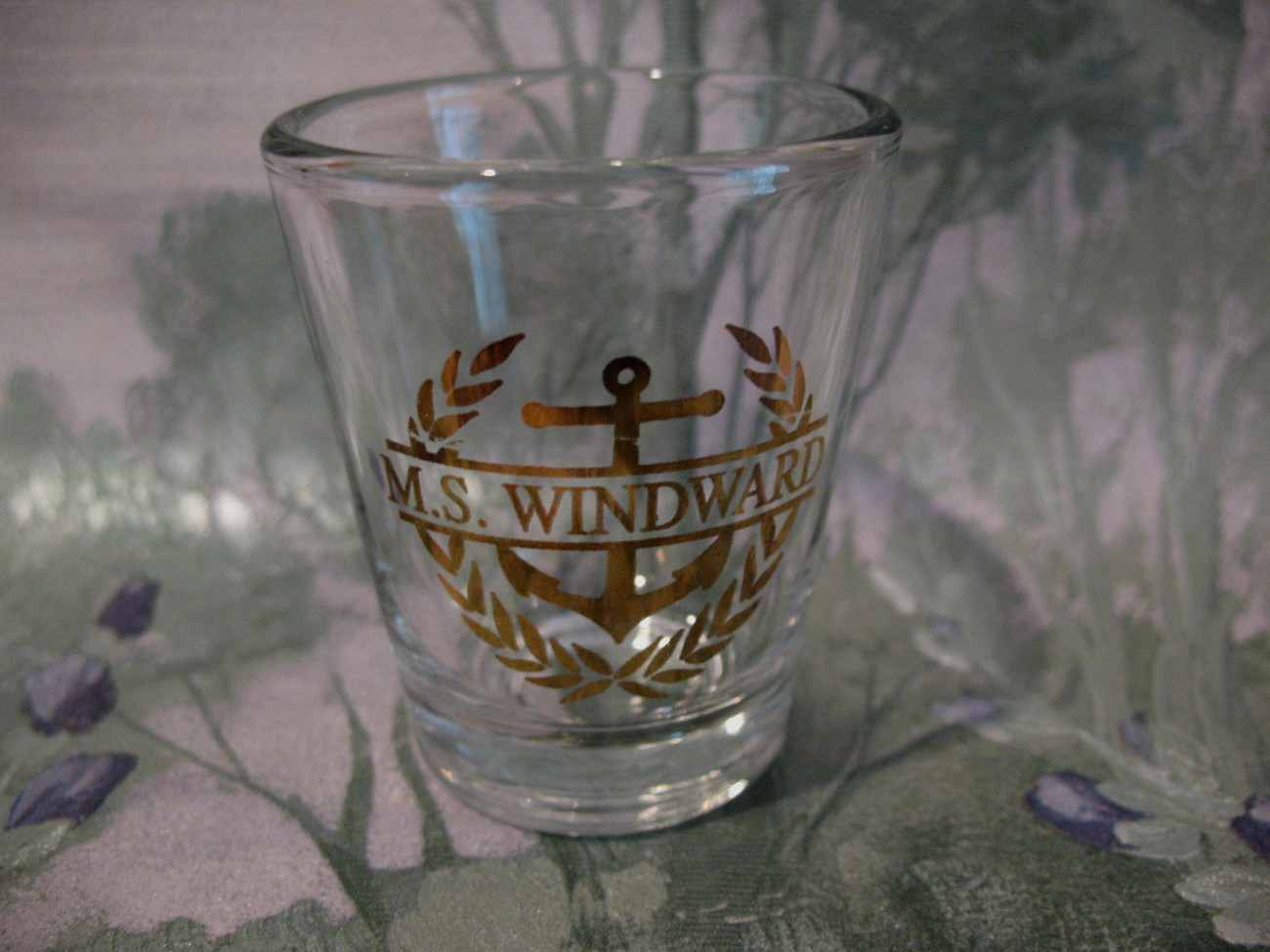 MS M.S. Windward Cruise Ship Souvenir Shot Glass