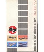 Airfix 1987 Catalog Aircraft Figures Historic Cars Model Hobby Kits - $10.95
