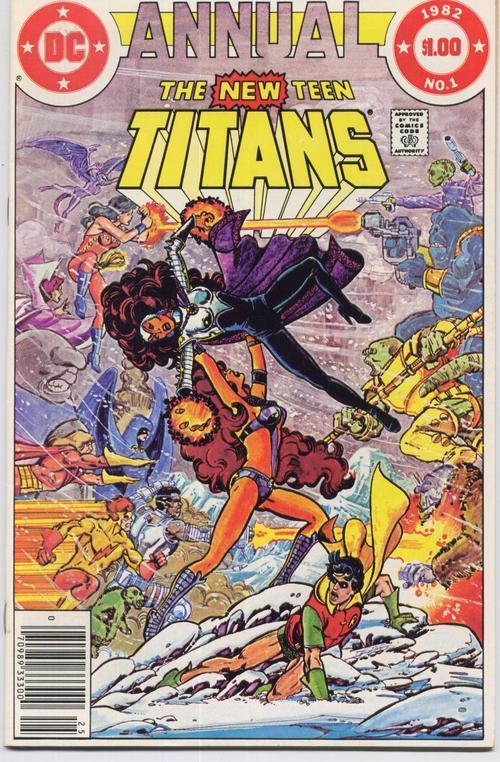 Teen titans annual  1