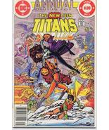 DC The New Teen Titans Annual #1 Robin Starfire Kid Flash - $4.95