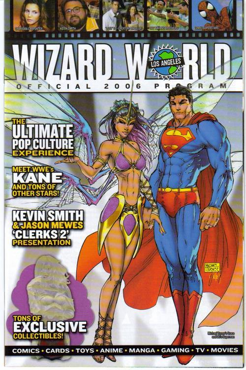 Wizard World Official 2006 Convention Program L.A. Michael Turner Cover
