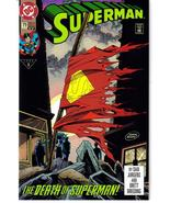 DC Superman #75 Death Of Superman VF/NM 4th Printing HTF Clark Kent Doom... - $24.95
