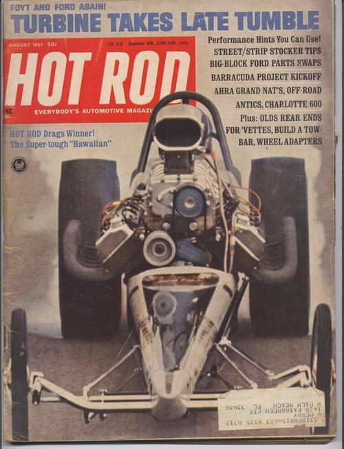Hot rod aug 67