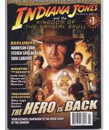 Indiana Jones &  The Kingdom Of Crystal Skull Movie Official Magazine - $7.95