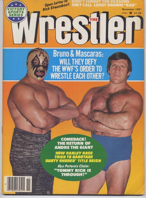 The wrestler mil mascaras