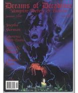 Dreams Of Decadence #11 Vampire Gothic Poetry Fiction Lawrence Witt Evans - $7.96
