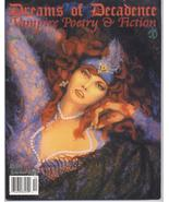 Dreams Of Decadence #14 Vampire Gothic Poetry Fiction - $7.16