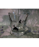 Night Riders Cabaret Dawson Creek BC. Souvenir Shot Glass - $5.99