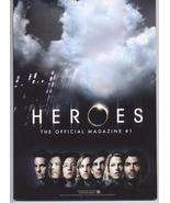 Heroes #1 Variant Edition Unread VF/NM Official Mag TV Show Action Adven... - $12.71