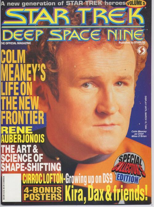 Star Trek Deep Space Nine #5 Colm Meaney Special Action Adventure