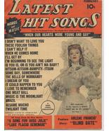 1945 Latest Hit Songs V2 #4 Judy Garland Arlene Francis Music Tunes - $7.95